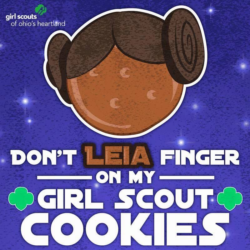 Girl Scout cookies, Girl Scout cookie sale, Girl Scout cookie booth